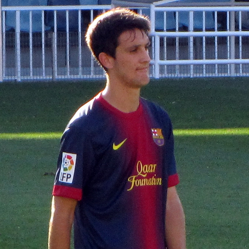 Luis Alberto, during his time at Barcelona