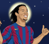 When Ronaldinho played, it was more about how you felt, rather than the academic details of the match. The outstretched thumb and pinky were symbolic of his musical roots.