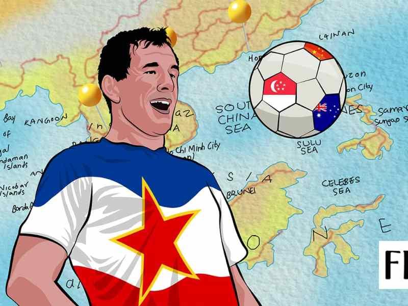 Aleksandar Đurić: One man's fight against the odds from Bosnia to Singapore