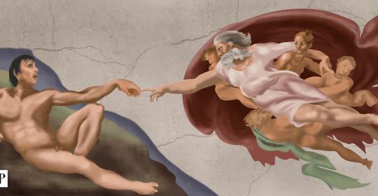 God Is Round