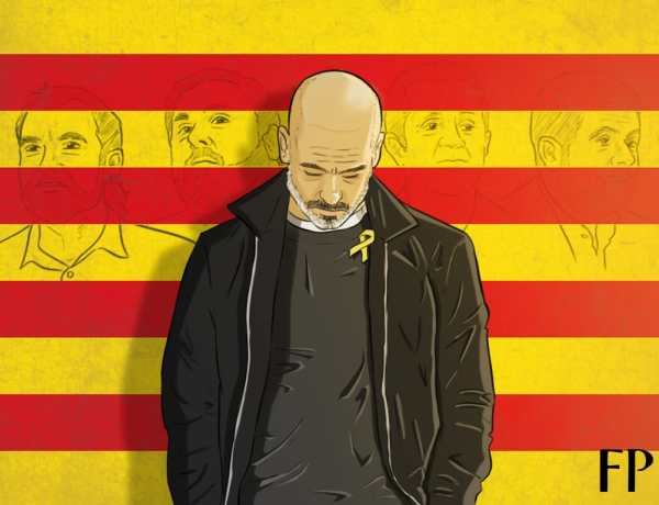 Homage to Catalonia - How Guardiola's Yellow Ribbon Reveals FA's Hypocrisy