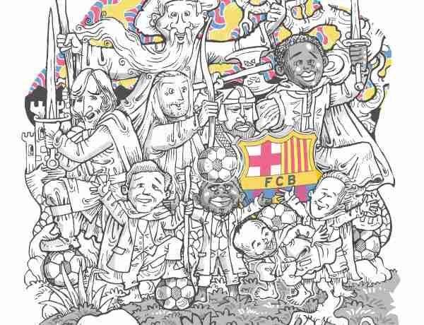 The Lords of the Ball - J.R.R. Tolkien's Legacy and FC Barcelona