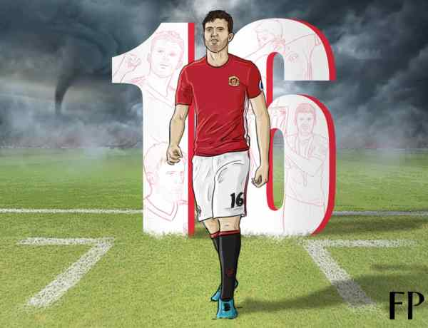 Metronome in the eye of the Storm - So long, Michael Carrick
