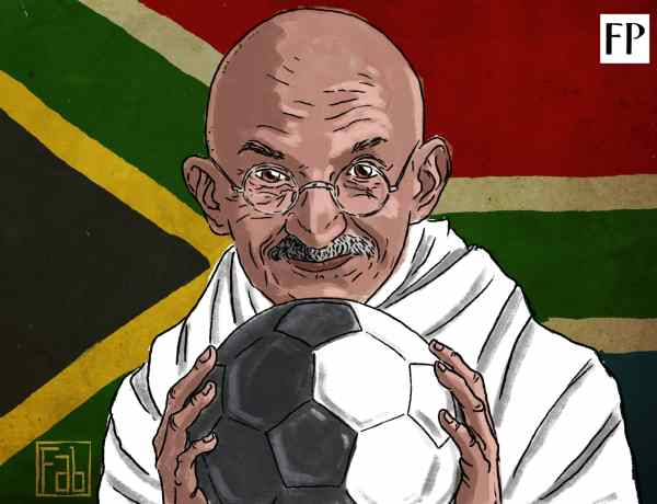 Mahatma Gandhi's Experiments with Football - Resistance vs Racism in South Africa