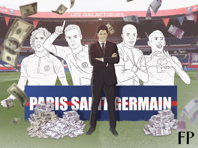 Paris Saint-Germain, dominated by money, looking to make their mark in history