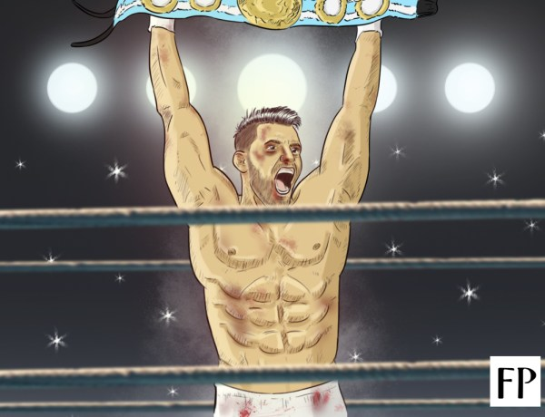 Sergio Aguero - King of the Ring