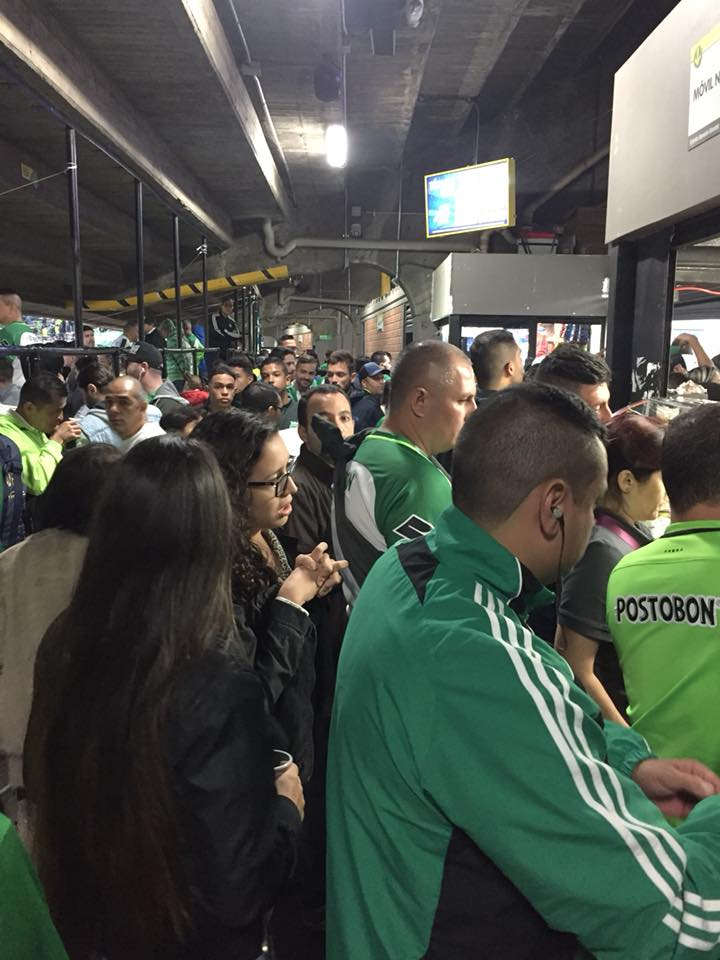 b4c9647b9 ( Ordering food is a serious event in itself at football games in  Colombia). The fans went home ...