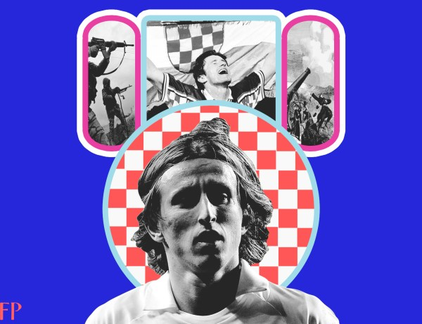 Luka Modric - The Monk of Silent Spaces, Between Bullets and Bombs