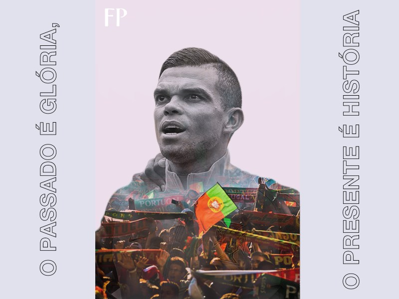 """The past is glory, the present is history"". On a night when their brightest star fell abruptly, Portugal had Pepe to haul them home."