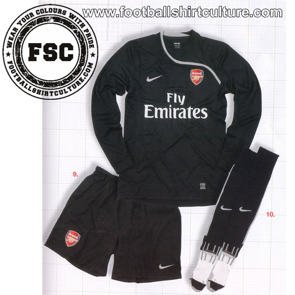 Arsenal GK kit 08/09