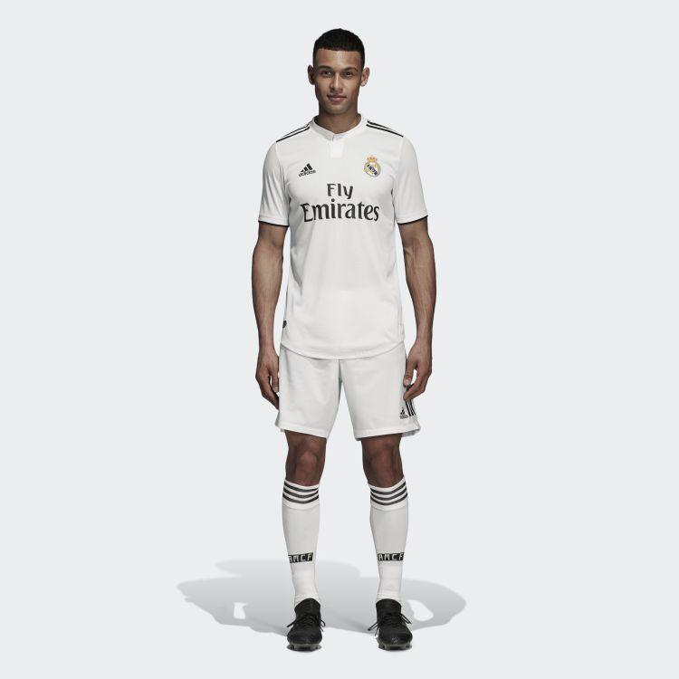 Real Madrid 2018-19 Adidas Home Kit | 18/19 Kits ...