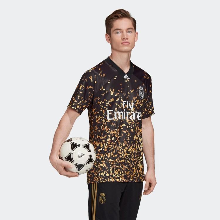 Real Madrid 2019 Adidas X EA Fourth Jersey   19/20 Kits ...