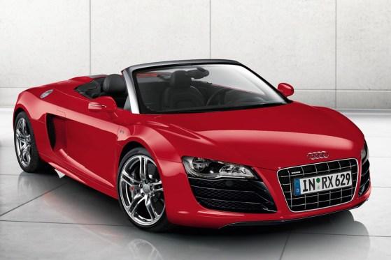 Audi R8 Spyder Messi car