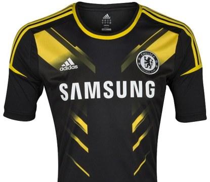 Third kit of Chelsea For 2014-15 season