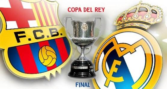 Barcelona vs Real Madrid Copa del Rey Final
