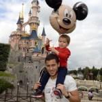 Eden with his son