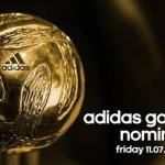 Golden Ball 2014 World Cup Nominees