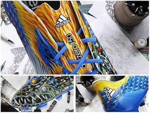Adidas blue dragon football boot 2014-15