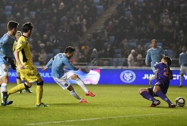 David Villa first goal for New York City FC