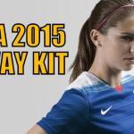USA 2015 Away Kit by Nike