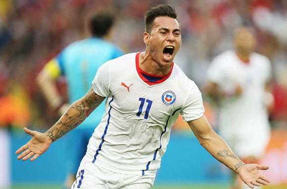Copa America 2015 top goal scorer winner