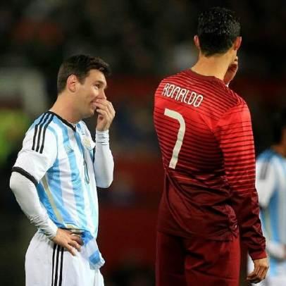 William on Ronaldo Messi