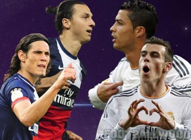 Real Madrid Vs PSG Photos