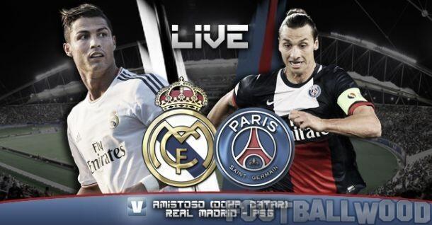 Real Madrid Vs PSG ist time