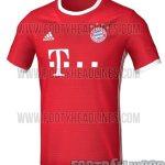 Bayern Munich 2016-17 leaked home jersey