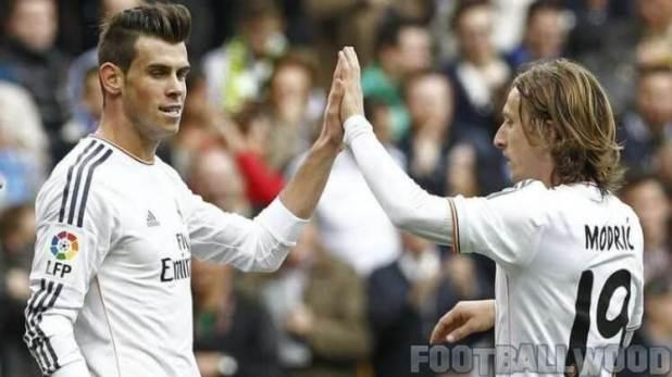 Luka Modric and Gareth Bale