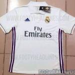 Real Madrid 2016-17 Home Kit