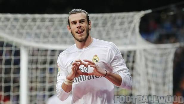 Gareth Bale goal in Real Madrid training