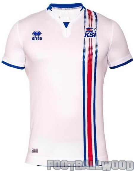 Iceland Euro 2016 away jersey