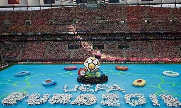 Euro 2016 opening ceremony