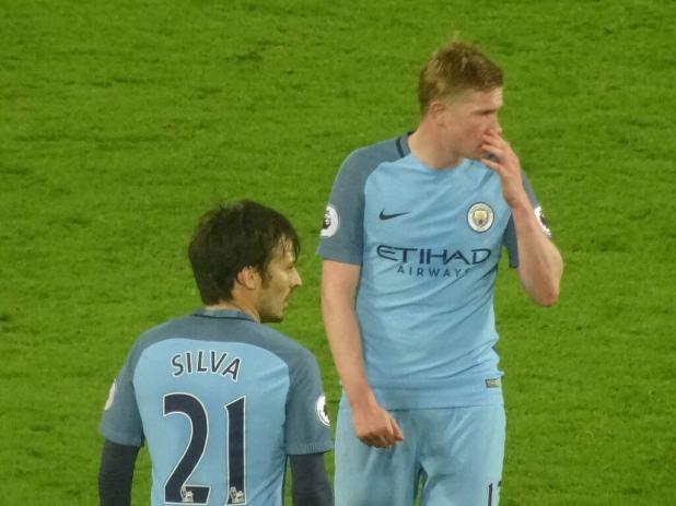 Manchester City David Silva 2017 photo