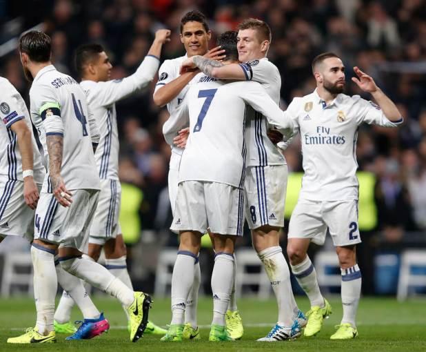Napoli Vs Real Madrid photo