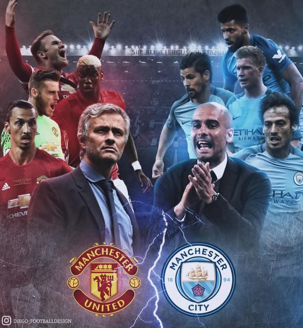 Manchester United vs Manchester City 2016 photo