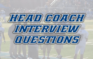 Head Coach Interview Questions