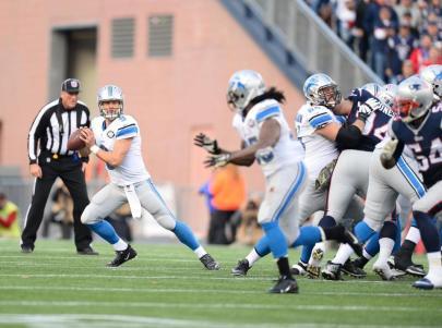 Umpire Dan Ferrell (Detroit Lions photo)