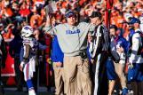 Head linesman Jim Howey (Buffalo Bills photo)