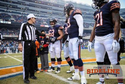 Referee Gene Steratore (Chicago Bears photo)