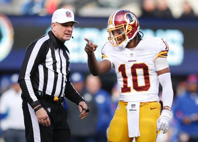 Referee Jeff Triplette (Washington Redskins photo)
