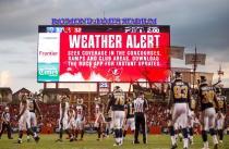 Weather delays the Rams and Buccaneers (Tampa Bay Buccaneers)