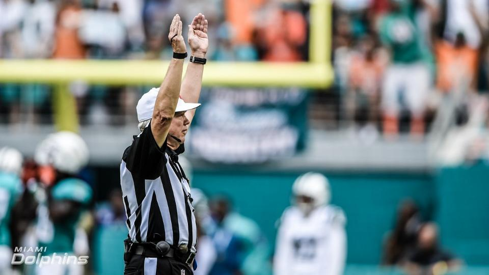 Week 10 referee assignments