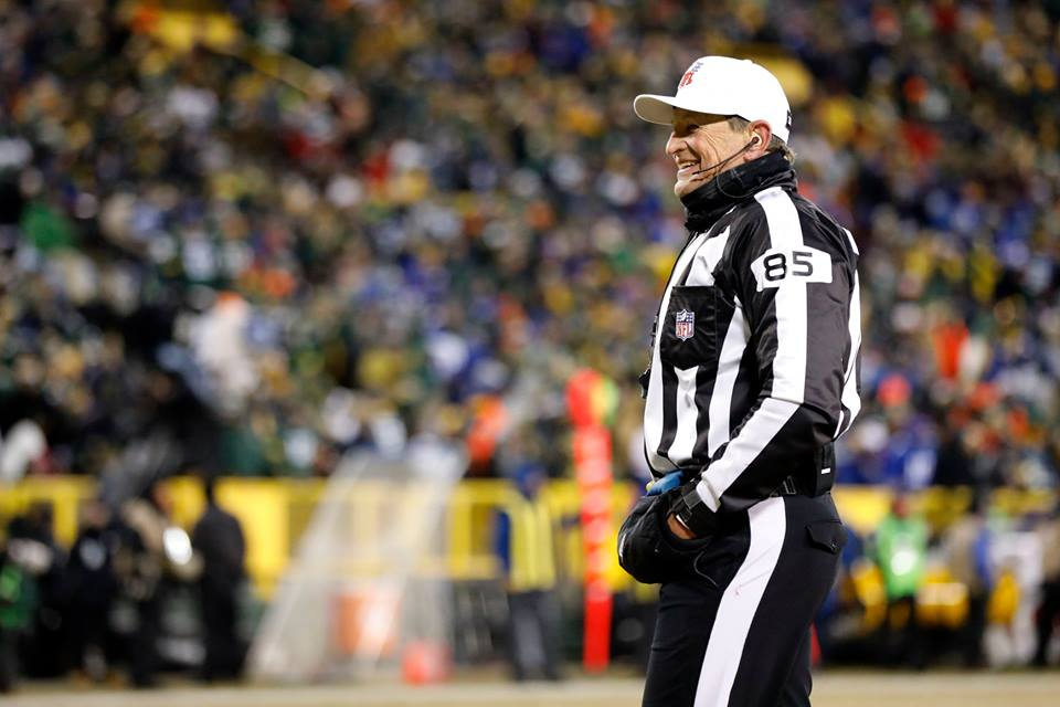 Referee Ed Hochuli is ending his 28-year NFL career