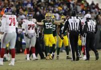 Clay Martin and Ed Hochuli (Green Bay Packers)