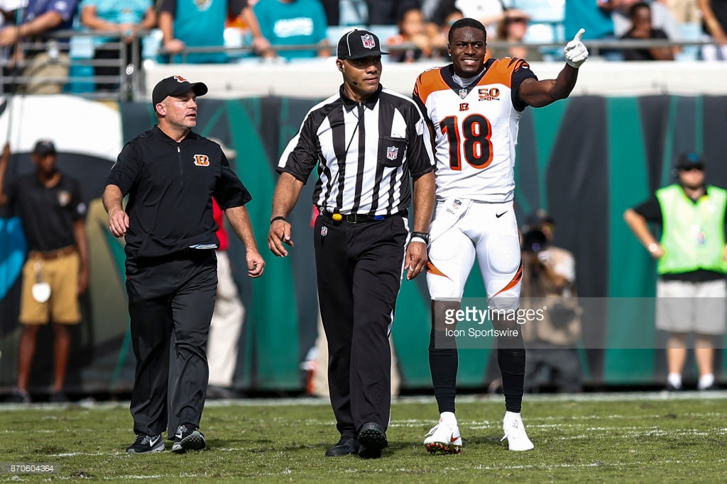 Officials not afraid to use ejection in Week 9
