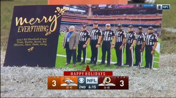 Ed Hochuli Holiday Card