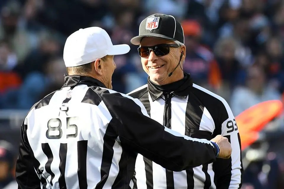 5 officiating observations from 2017