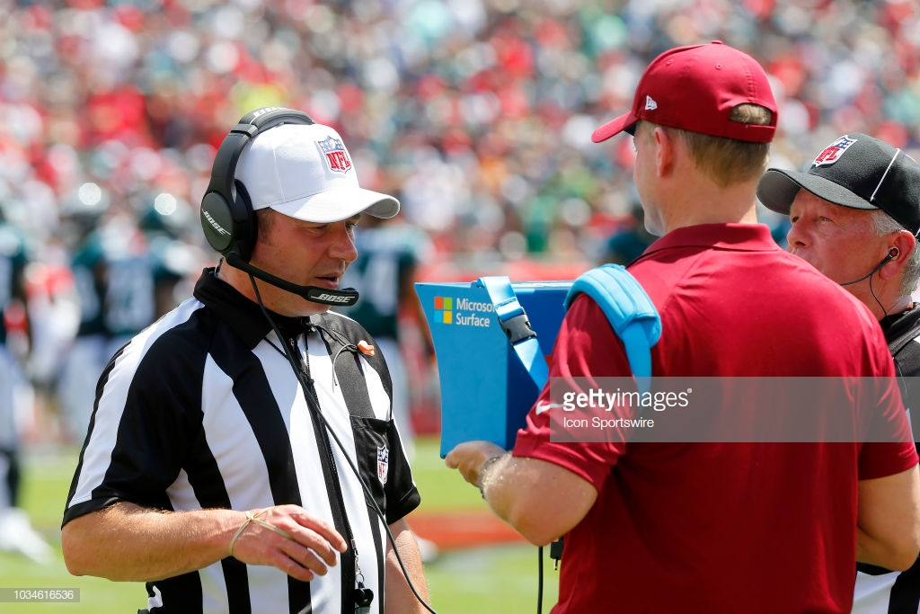 Week 7 referee assignments